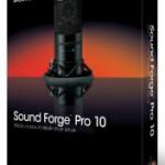 скачать звуковой редактор Sony Sound Forge 10