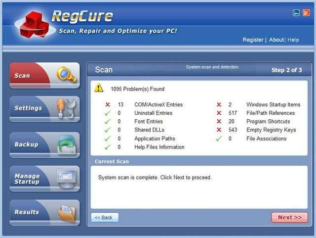 RegCleaner 4.3