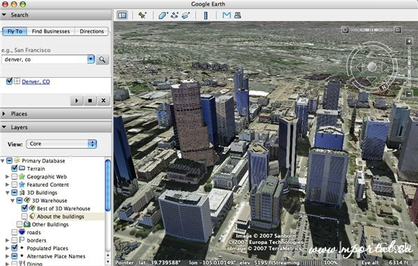 Google Earth (Google Планета Земля) 7.1