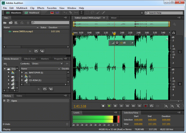 Скачать Adobe Audition Cs6 торрент