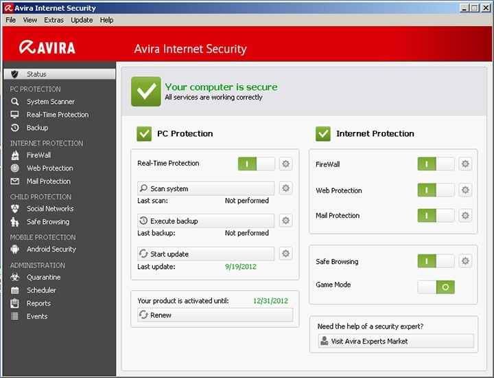 Avira free antivirus скачать