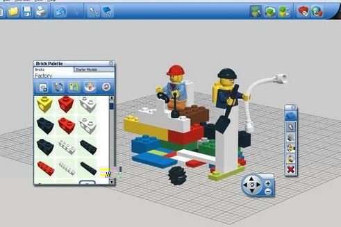 Lego digital designer peopleprogrammy for Lego digital designer templates